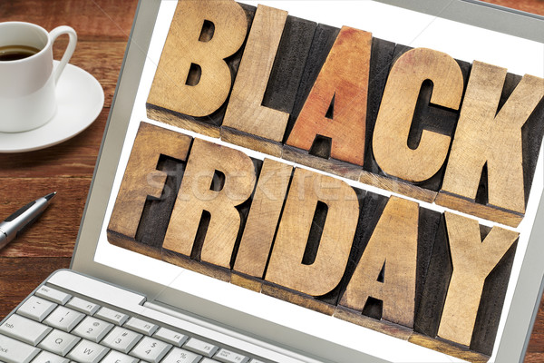 Black Friday shopping concept Stock photo © PixelsAway