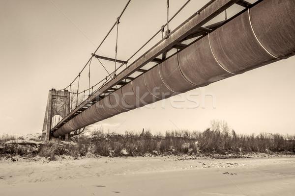 Great Western Sugar Company Effluent Flume and Bridge Stock photo © PixelsAway