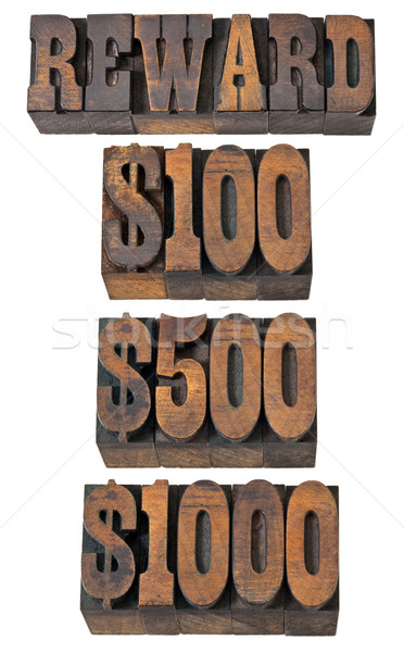 reward in western style type Stock photo © PixelsAway