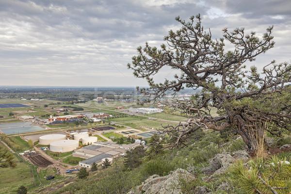 Fort Colorado water plant zonne-boerderij universiteit Stockfoto © PixelsAway