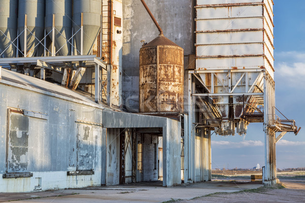old grain elevator  Stock photo © PixelsAway