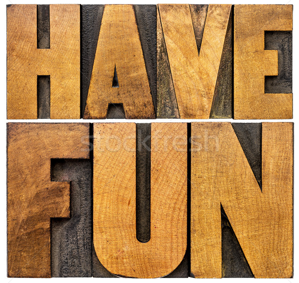 have fun word abstract banner Stock photo © PixelsAway
