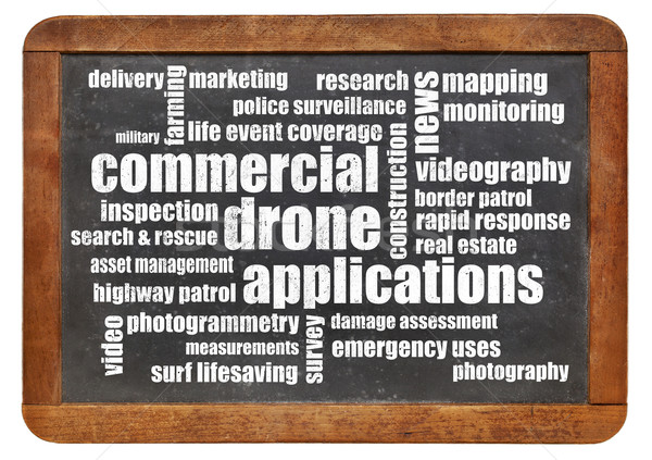 commercial drone applications Stock photo © PixelsAway