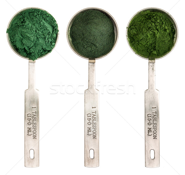 blue green, chlorella and spirulina Stock photo © PixelsAway