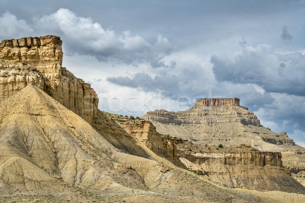 Book Cliffs in eastern Utah Stock photo © PixelsAway
