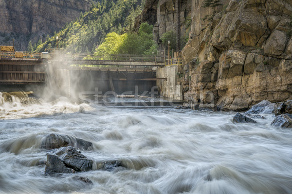 Colorado River at Shoshone Power Plant Stock photo © PixelsAway