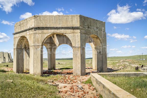 Ruinas planta concretas uno cinco reducción Foto stock © PixelsAway