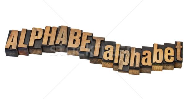 alphabet word abstract Stock photo © PixelsAway