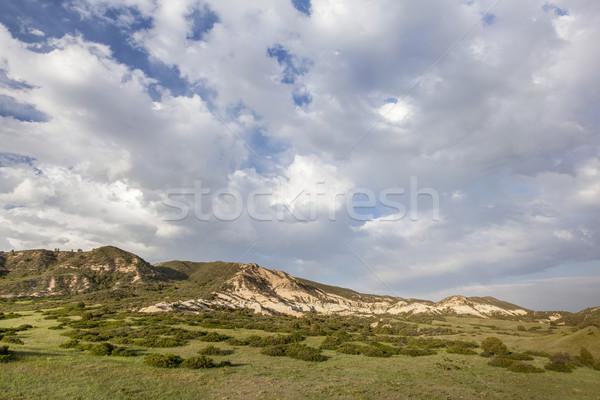 облака Колорадо ранчо горные красный открытых Сток-фото © PixelsAway