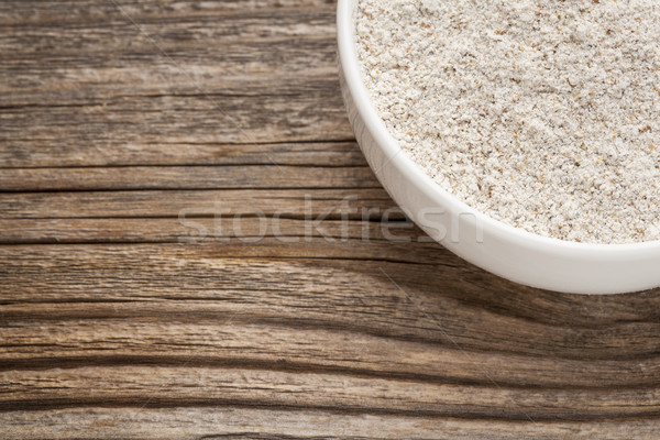 whole grain rice flour Stock photo © PixelsAway