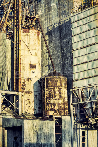 古い 抽象的な 産業 グランジテクスチャ 効果 ストックフォト © PixelsAway