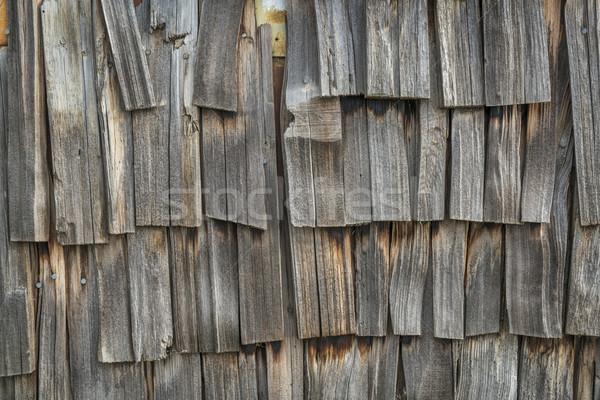Intemperie legno vecchio Foto d'archivio © PixelsAway
