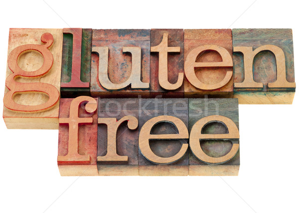 gluten free text Stock photo © PixelsAway