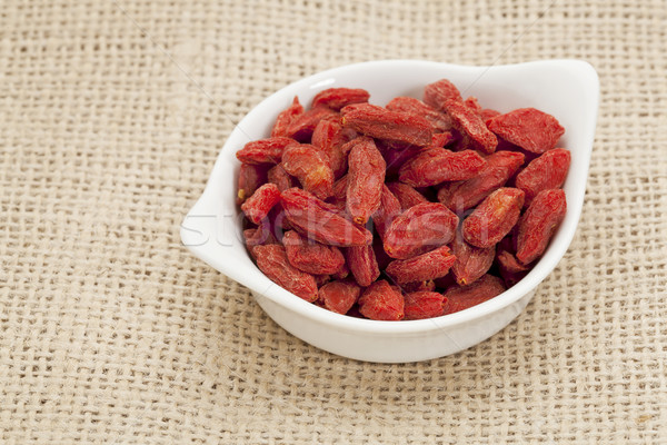 organic goji berries Stock photo © PixelsAway