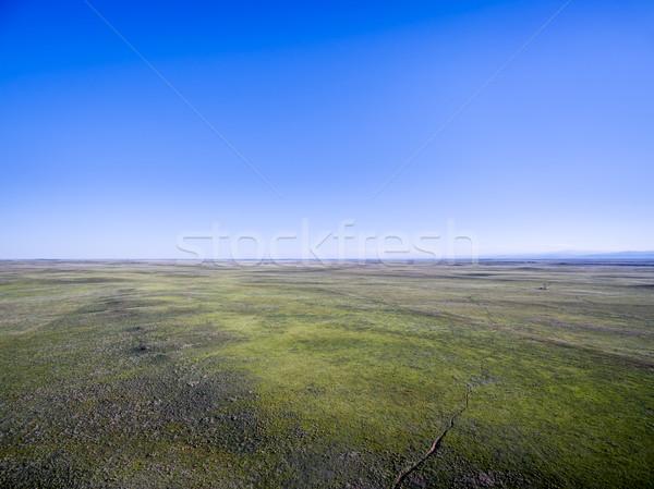Pawnee National Grassland aerial view Stock photo © PixelsAway