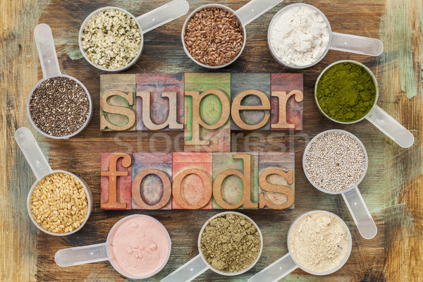 superfoods Stock photo © PixelsAway