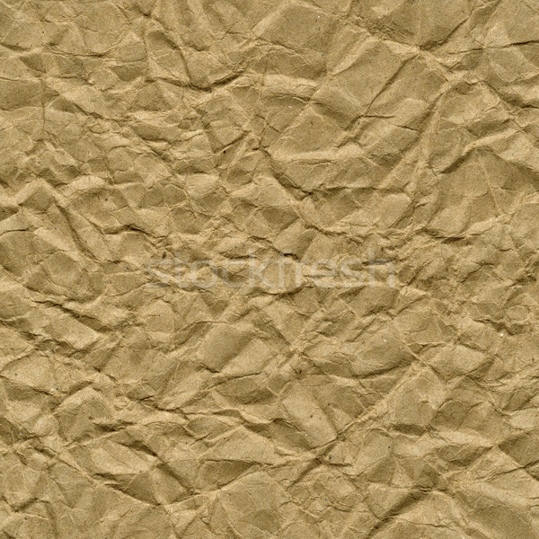 crumpled brown packing paper texture Stock photo © PixelsAway