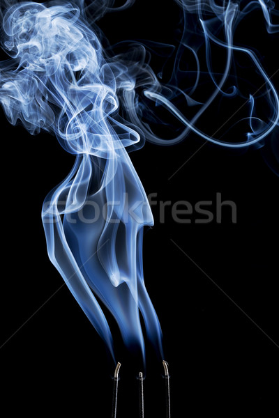 incense smoke abstract Stock photo © PixelsAway