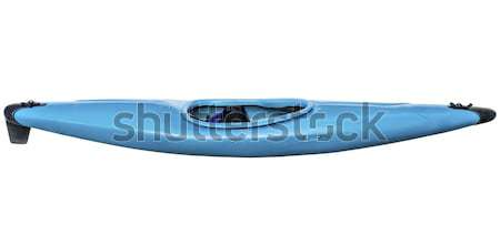 whitewater kayak with paddle Stock photo © PixelsAway
