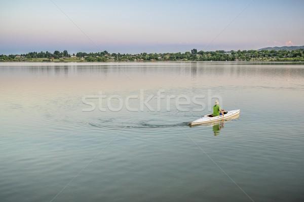 カヌー コロラド州 1 フロント ストックフォト © PixelsAway