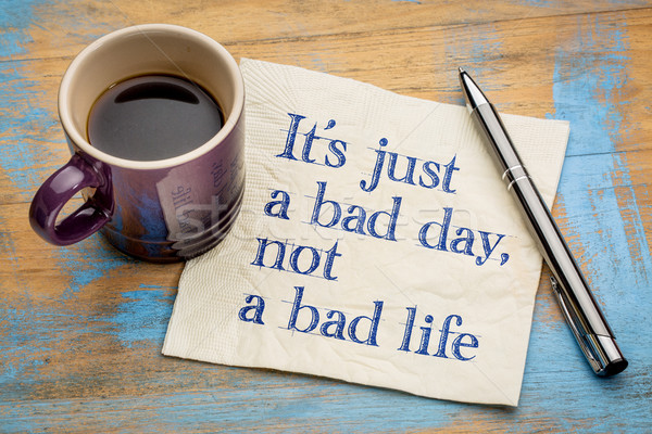 It is just a bad day, not ... Stock photo © PixelsAway
