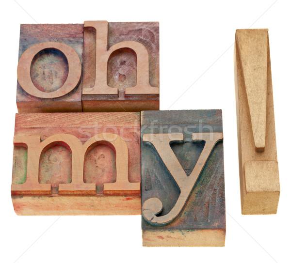 изолированный текста Vintage древесины Сток-фото © PixelsAway
