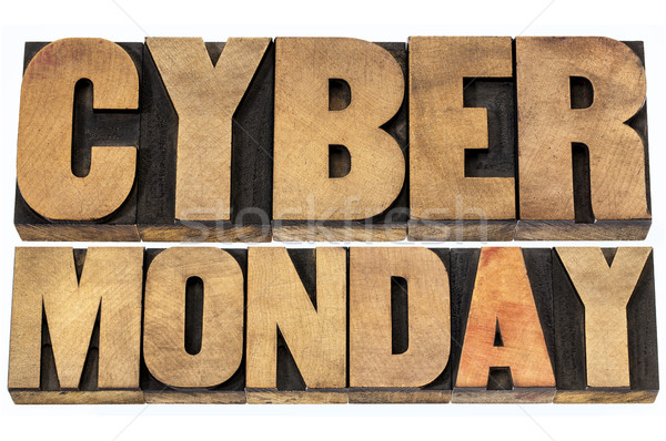 Stock photo: Cyber Monday shopping concept