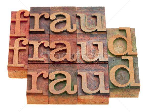 fraud word abstract Stock photo © PixelsAway
