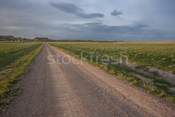 farm road in Pawnee Grassland, Colorado Stock photo © PixelsAway