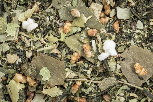 Chá medicinal oolong chá lótus Foto stock © PixelsAway
