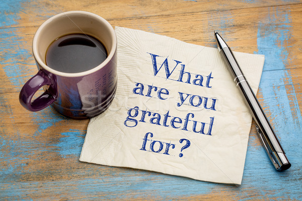 What are you grateful for? Stock photo © PixelsAway