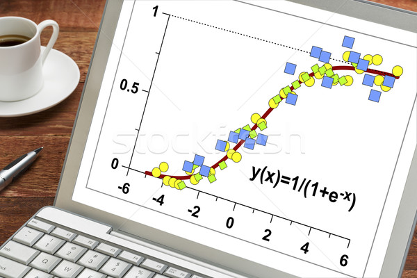 data and limited growth model  Stock photo © PixelsAway