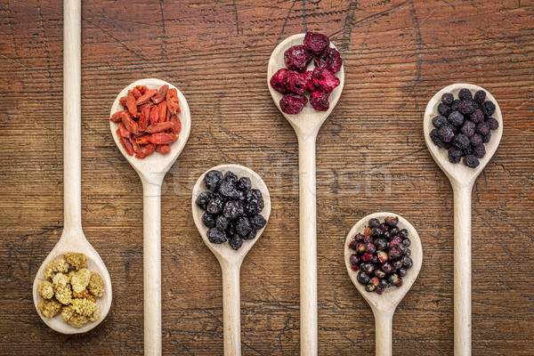 superfruit berry collection Stock photo © PixelsAway