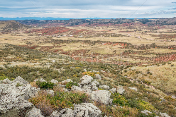 rugged terrain of northern Colorado Stock photo © PixelsAway