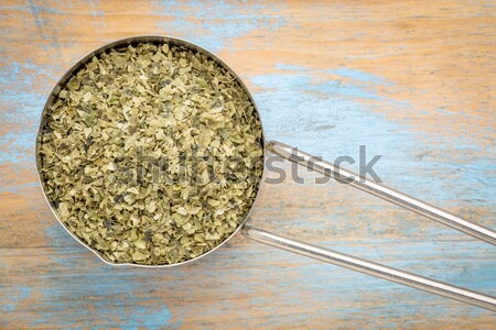 chia seeds in a metal scoop Stock photo © PixelsAway