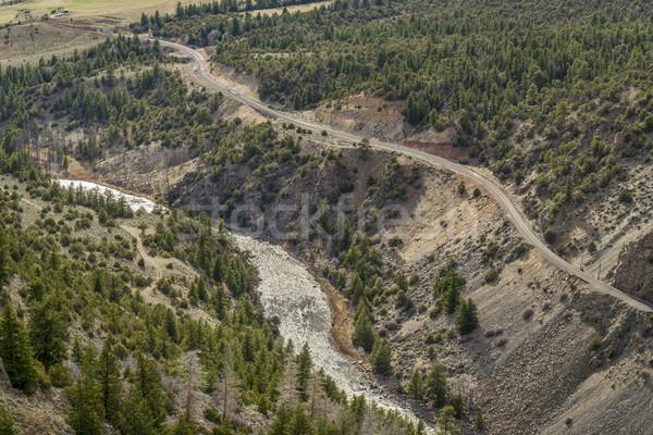 Colorado River in Gore Canyon Stock photo © PixelsAway