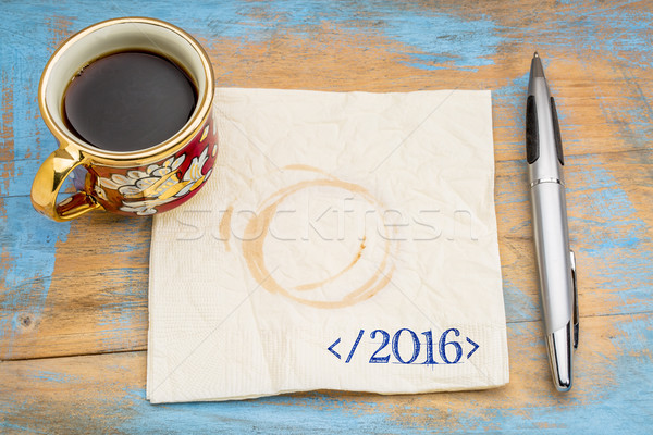 end of 2016 year concept Stock photo © PixelsAway