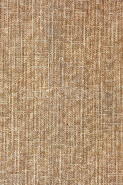 brown, coarse textile background Stock photo © PixelsAway