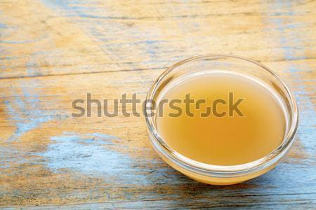 unfiltered, raw apple cider vinegar Stock photo © PixelsAway