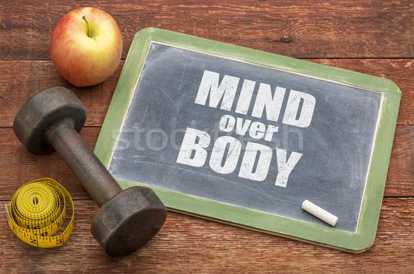 mind over body  concept Stock photo © PixelsAway