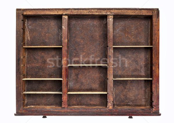 old typesetter drawer Stock photo © PixelsAway