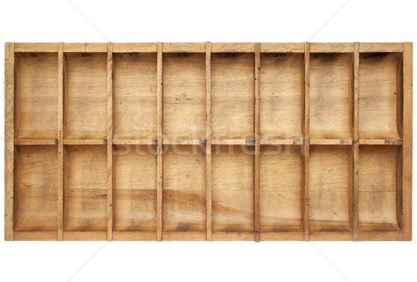 vintage typesetter box Stock photo © PixelsAway