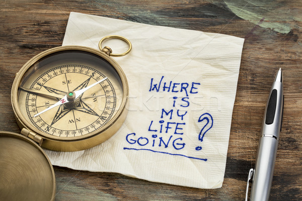 where is my life going Stock photo © PixelsAway