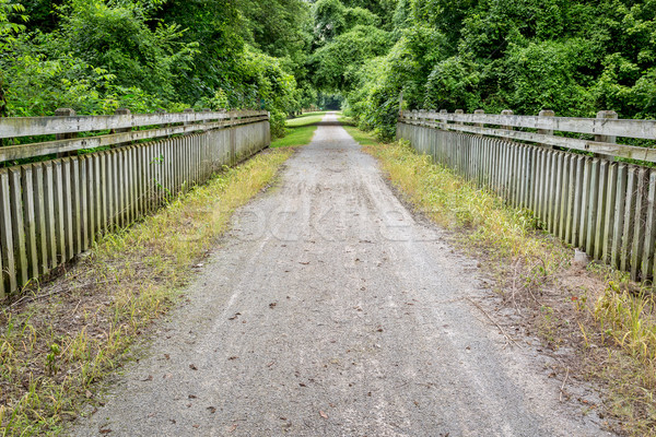 тропе Миссури велосипедов заброшенный железная дорога Сток-фото © PixelsAway