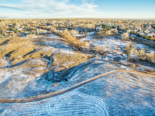 aerial view of Colorado foothills Stock photo © PixelsAway