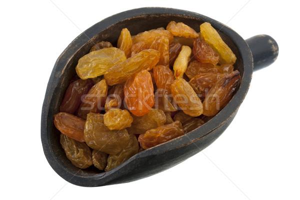 scoop of jumbo golden raisins Stock photo © PixelsAway