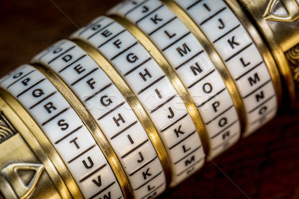 think word as password Stock photo © PixelsAway