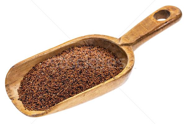 Rustique évider grain bébé bois Photo stock © PixelsAway