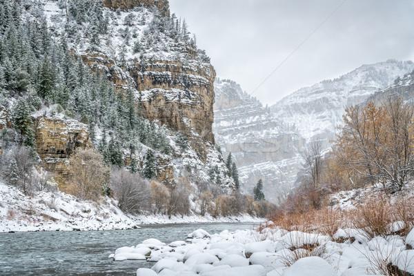 Колорадо реке каньон гризли ручей Сток-фото © PixelsAway