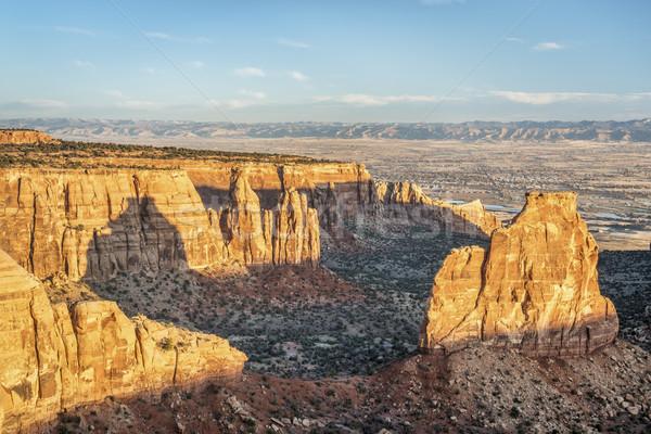 Rocha Colorado nascer do sol luz Foto stock © PixelsAway